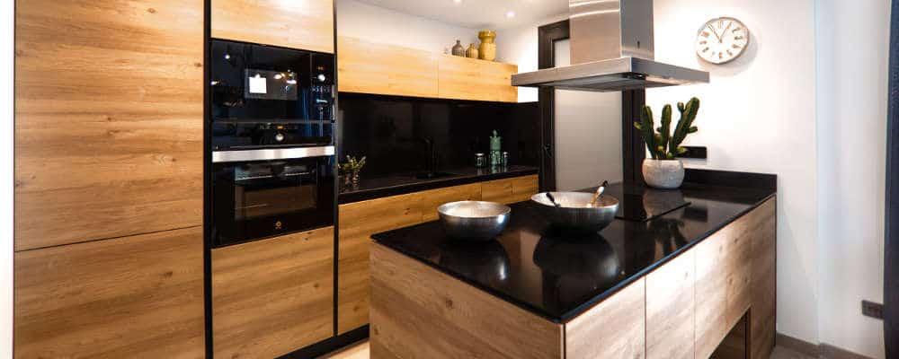 kitchen design modern slab door