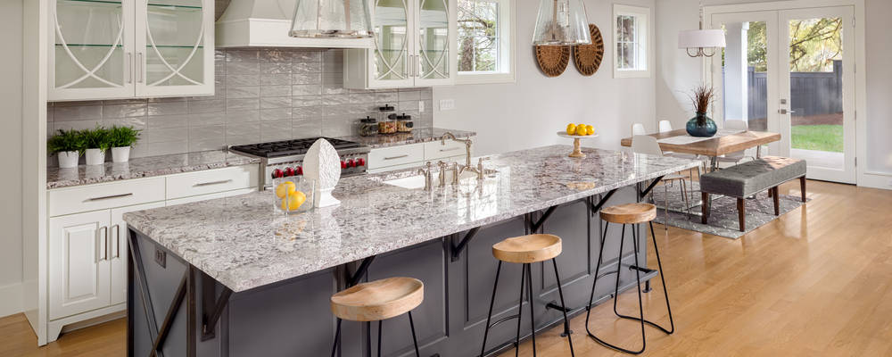 stone benchtops kitchen